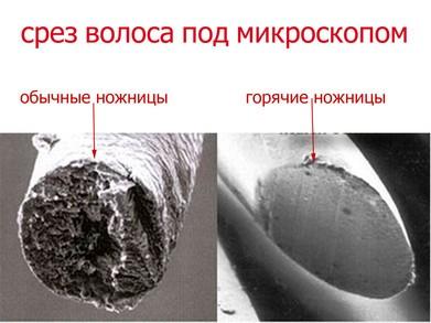 goryachie nozhnitsy4 - Стрижка горячими ножницами